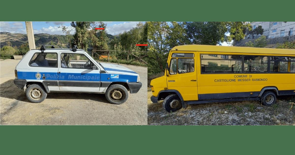 Avviso pubblico per la vendita di automezzi di proprietà comunale