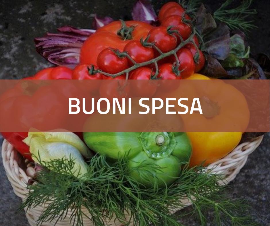Emergenza COVID 19 - Buoni spesa per generi alimentari